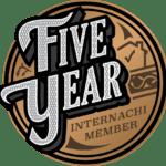 5 year internachi member